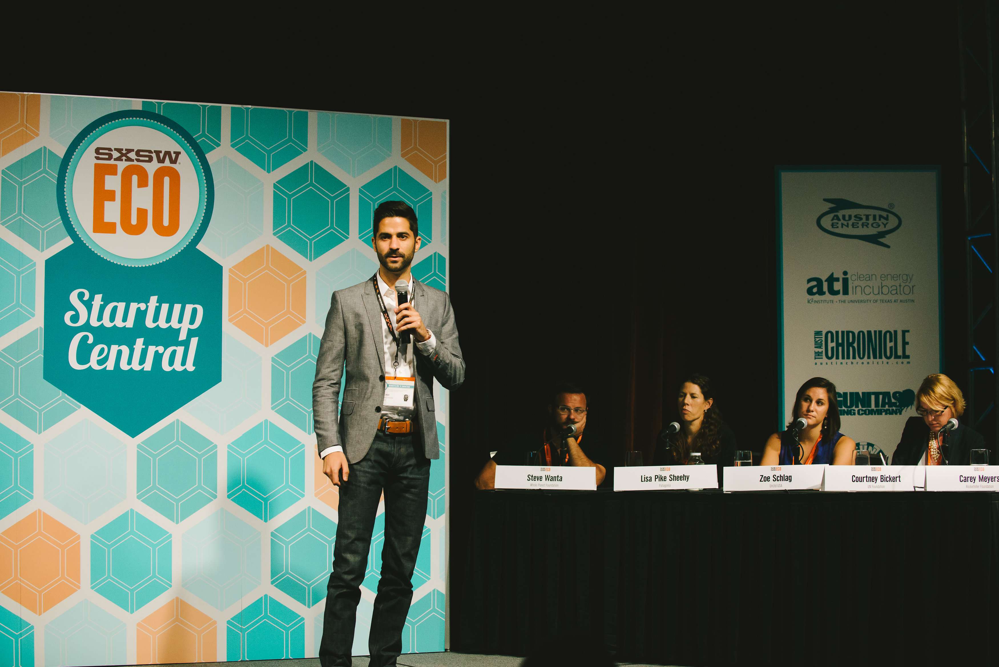GIC at SXSW Eco's 2014 Startup Showcase