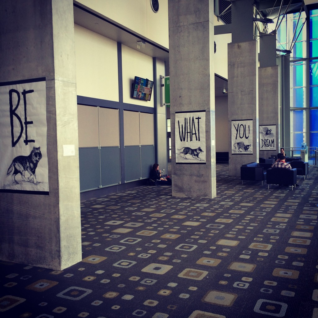 Daily motivation at the SXSW Eco conference